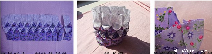 Японская сумочка ОРИГАМИ. Фото мк (7) (700x179, 99Kb)