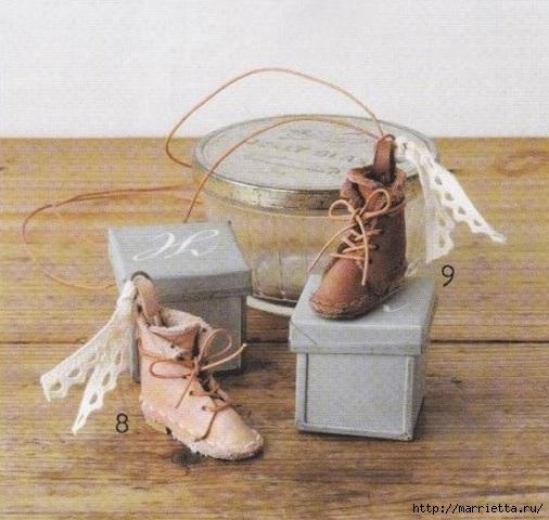 Кожа в миниатюре. Шаблон ботиночек (8) (506x480, 151Kb)
