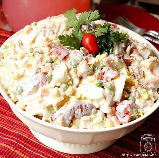 Картофельный салат. Рецепт (3) (539x536, 232Kb)