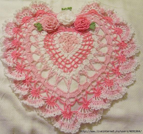 """钩针:""""美丽的餐巾垫"""" - maomao - 我随心动"""