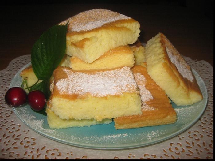 пирог пирожные кох