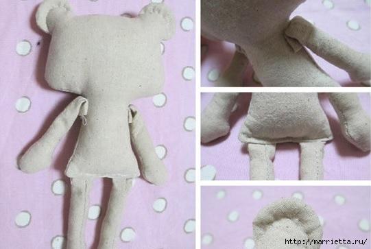 Шьем маленькую куколку. Фото мастер-класс (5) (541x363, 106Kb)