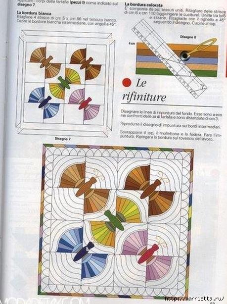 Лоскутные панно с бабочками (6) (459x614, 225Kb)