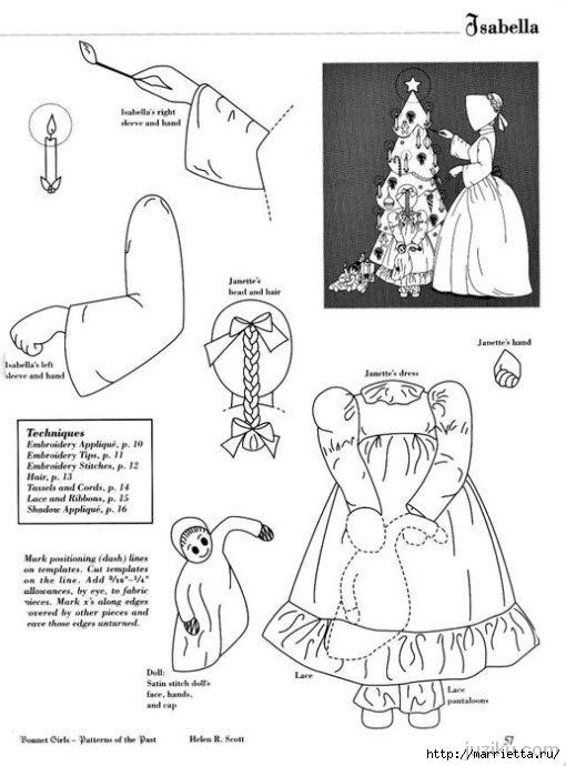 Лоскутное шитье. Журнал Bonnet Girls (5) (510x690, 145Kb)