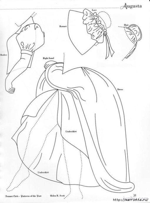Лоскутное шитье. Журнал Bonnet Girls (9) (510x690, 119Kb)