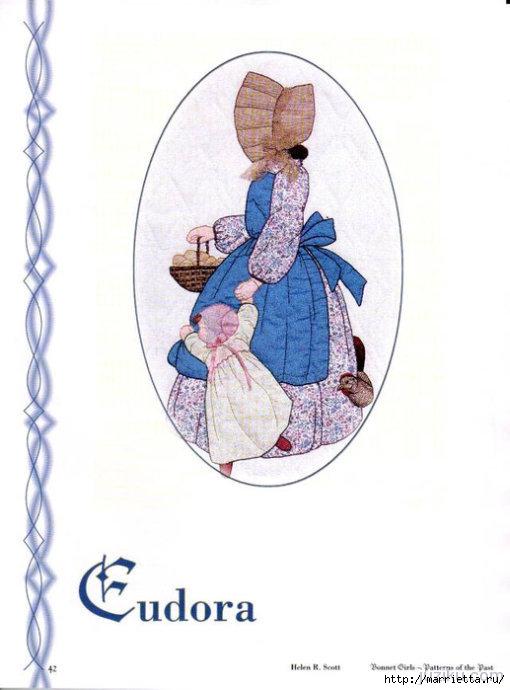Лоскутное шитье. Журнал Bonnet Girls (11) (510x690, 134Kb)