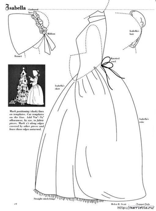 Лоскутное шитье. Журнал Bonnet Girls (24) (510x690, 98Kb)