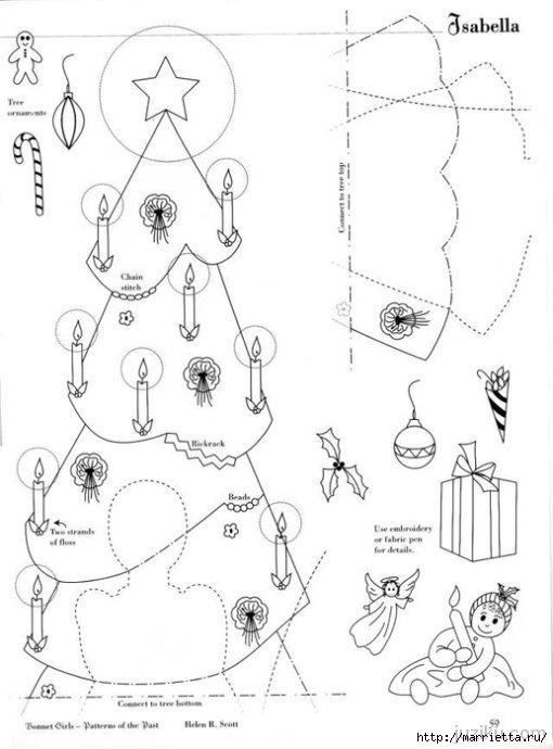 Лоскутное шитье. Журнал Bonnet Girls (28) (510x690, 124Kb)