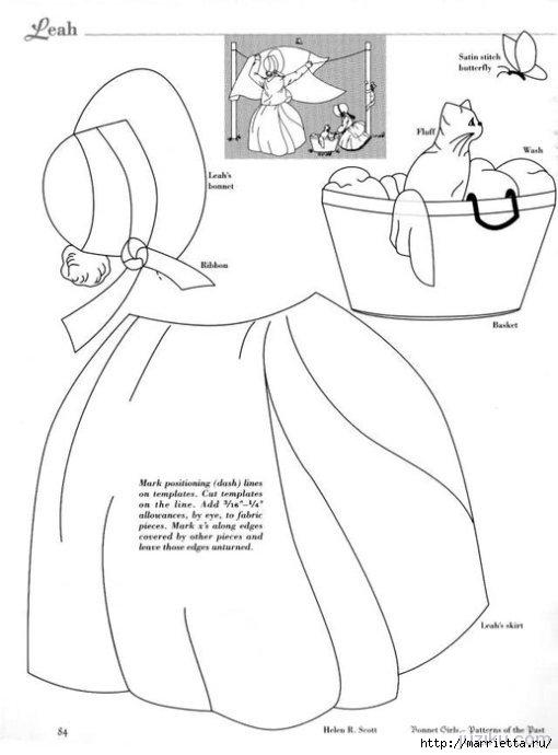 Лоскутное шитье. Журнал Bonnet Girls (47) (510x690, 100Kb)