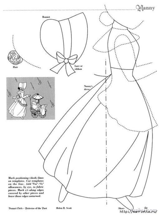 Лоскутное шитье. Журнал Bonnet Girls (58) (510x690, 109Kb)