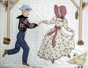Лоскутное шитье и аппликация. Журнал Bonnet Girls (9) (306x235, 99Kb)