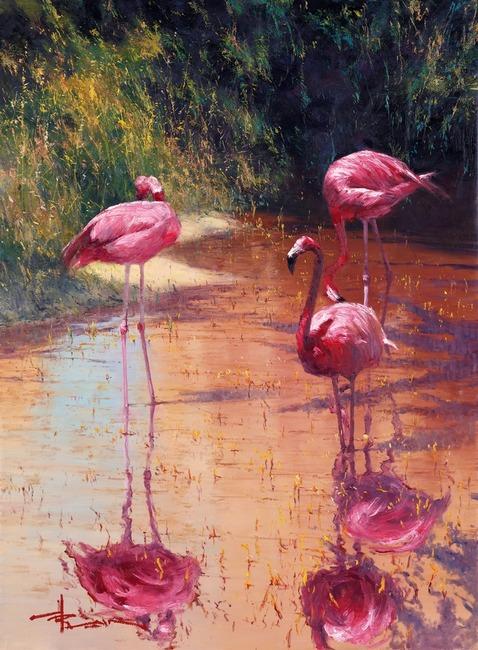 Robert Hagan 1947 - Australian Impressionist painter - Tutt'Art@ (2) (478x650, 394Kb)