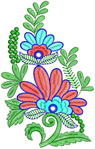 Превью bridal wear embroidered patch (447x700, 263Kb)
