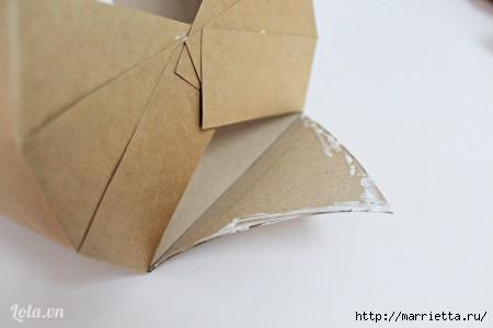 Сумочка-корзинка из картона (2) (450x300, 47Kb)