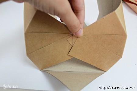 Сумочка-корзинка из картона (10) (450x300, 56Kb)