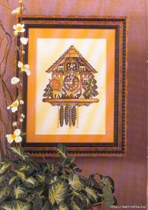 Вышивка крестом. ЧАСЫ (2) (494x700, 321Kb)