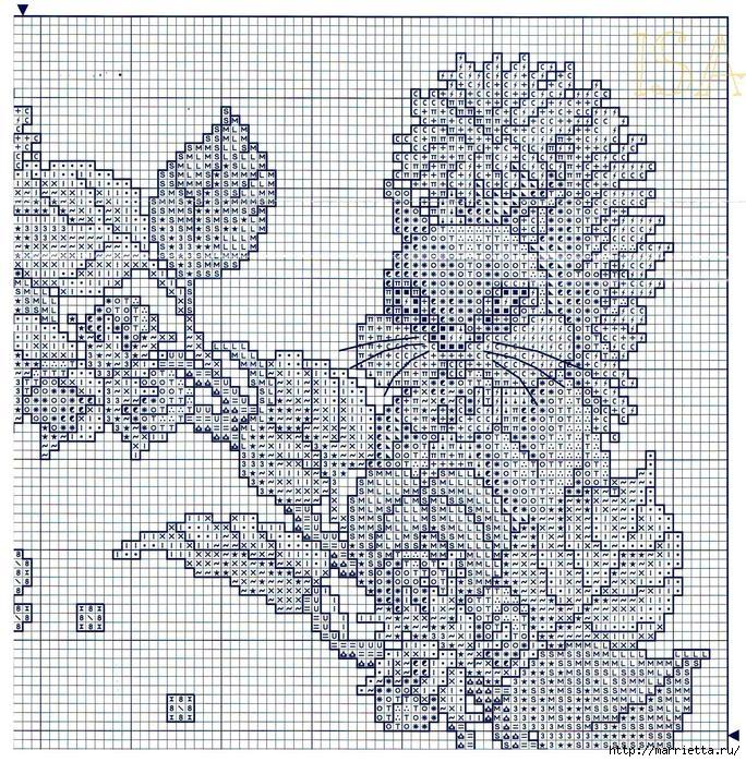 Вышивка крестом. ЧАСЫ (8) (684x699, 536Kb)