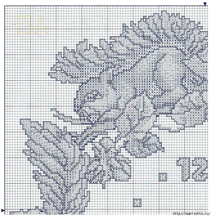 Вышивка крестом. ЧАСЫ (10) (684x699, 519Kb)