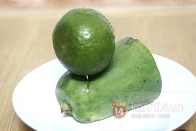 Цитрусовый карвинг. БОЛОНКА из грейпфрута, папайи и апельсина (1) (400x267, 134Kb)