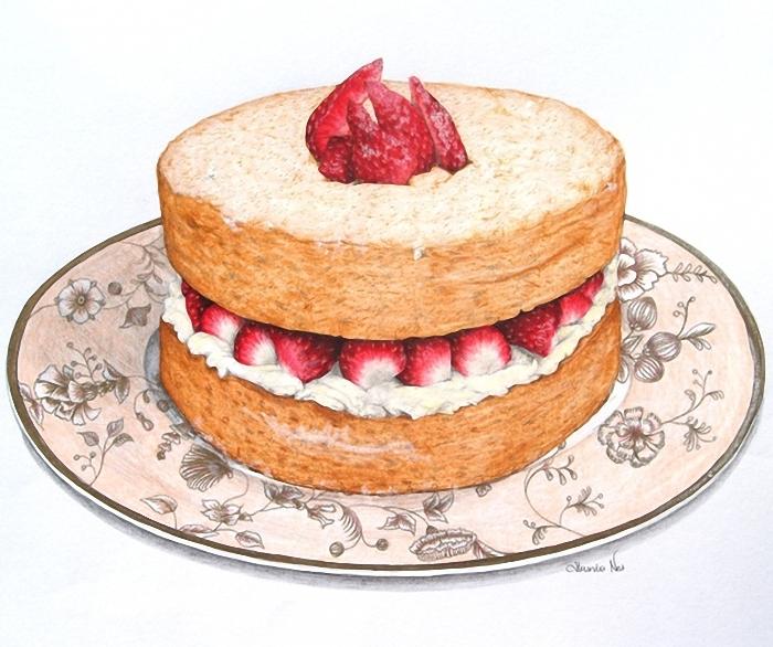 Торта на кухонную тему фото