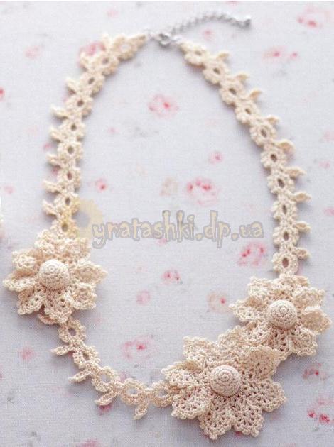 вязаные ожерелья - Самое