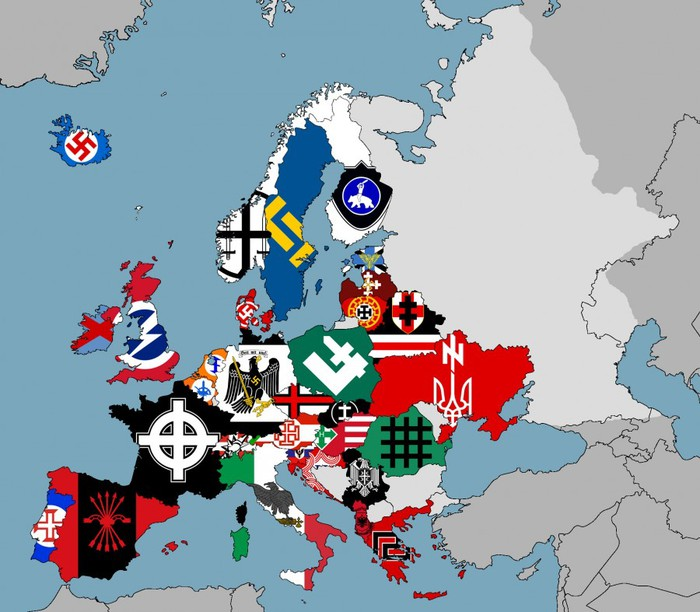 Европа фашистская (700x612, 99Kb)