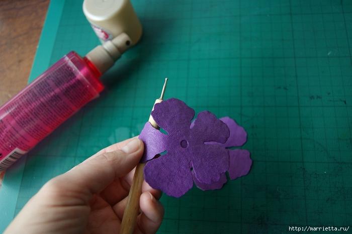 Бумагопластика. Цветочки в торфяных горшочках (6) (700x466, 203Kb)