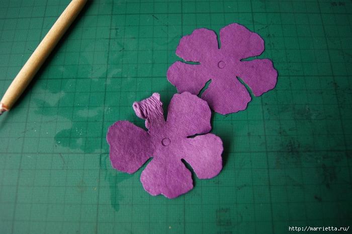 Бумагопластика. Цветочки в торфяных горшочках (8) (700x466, 254Kb)