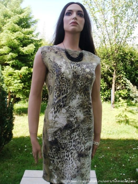 новые серая коллекция и тигровое платье 029 (525x700, 369Kb)