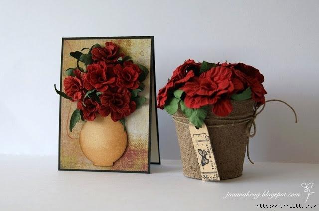 бумагопластика цветы из бумаги (8) (640x423, 133Kb)