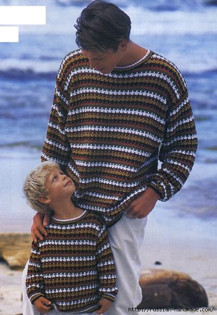 Летний мужской пуловер (4) (425x617, 229Kb)