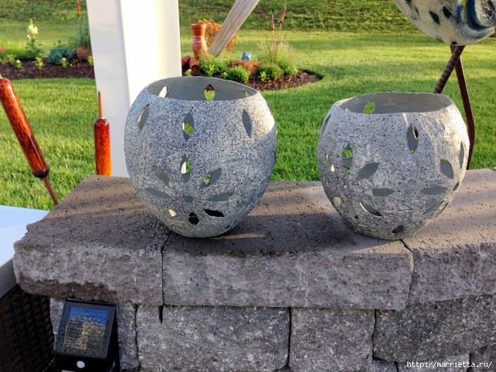 Садовые светильники из папье-маше. Мастер-класс (7) (700x525, 365Kb)