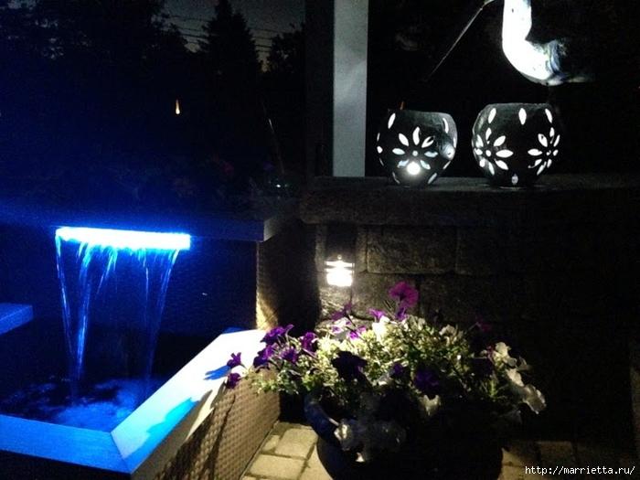 Садовые светильники из папье-маше. Мастер-класс (9) (700x525, 252Kb)