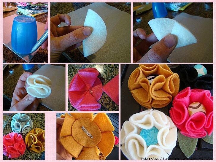 Видео как сделать бантик из ткани своими руками