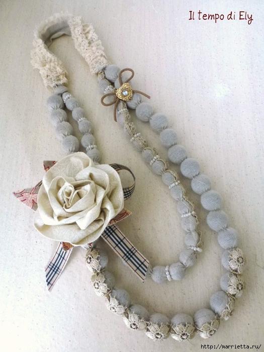 текстильные бусы своими руками. мастер-класс (46) (525x700, 272Kb)