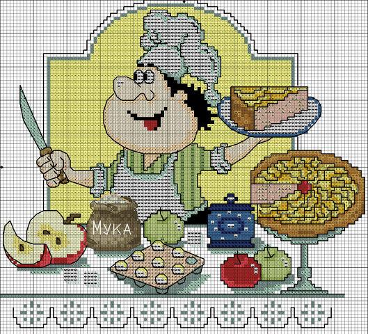 сладкий пирог (529x480, 333Kb)