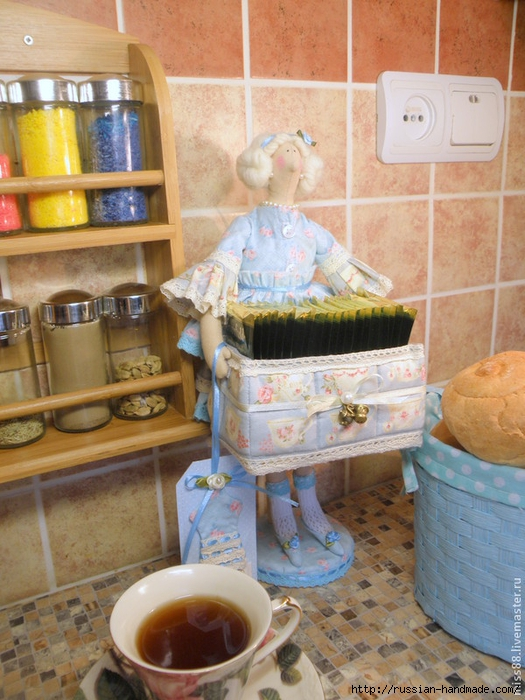 Кукла ТИЛЬДА - хранительница чайных пакетиков (59) (525x700, 307Kb)