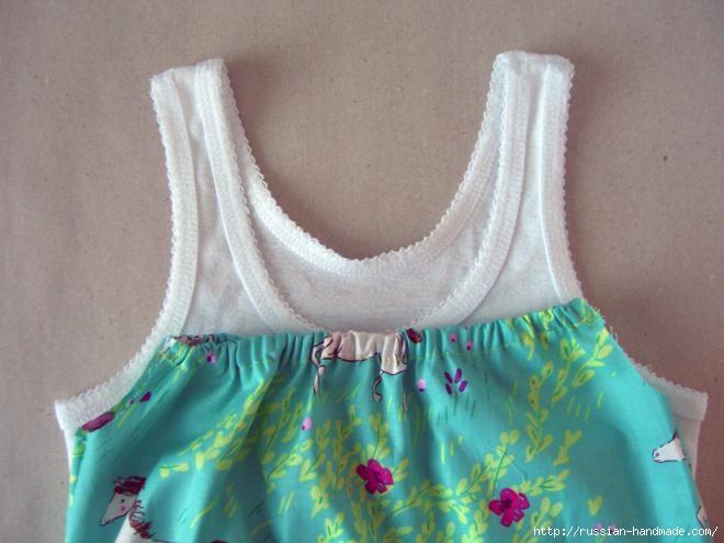Как сшить сарафан для маленькой девочки (9) (660x495, 138Kb)