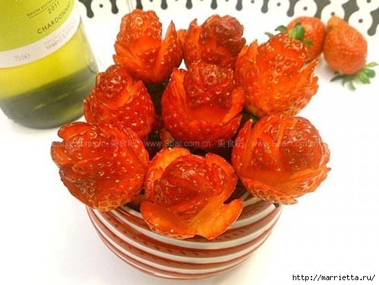 цукаты и розы из  клубники (11) (550x413, 136Kb)