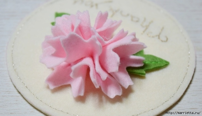 Брелок - кошелек с цветком из фетра (14) (700x402, 142Kb)