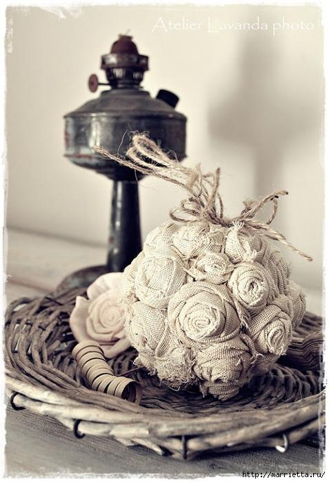 Текстильные шары из крученых розочек (6) (477x700, 244Kb)