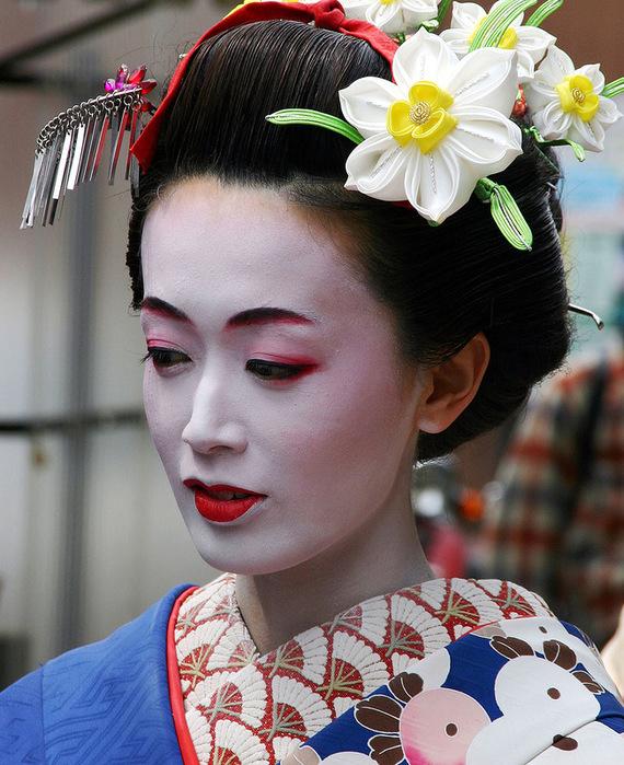 Украшение головы японки своими руками 89