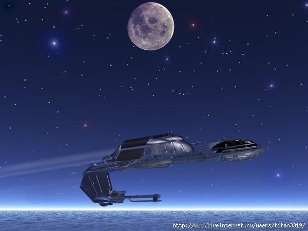 Корабль над землей (600x450, 92Kb)
