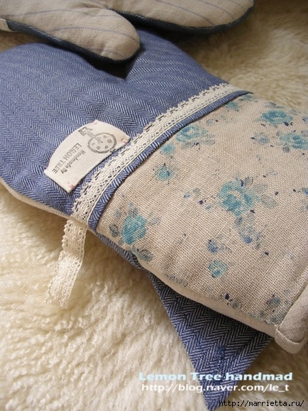 Шьем тапочки и прихватки из джинсовой рубашки (3) (434x579, 220Kb)
