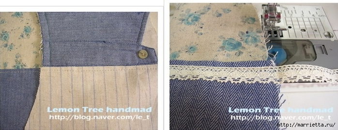 Шьем тапочки и прихватки из джинсовой рубашки (9) (700x268, 164Kb)