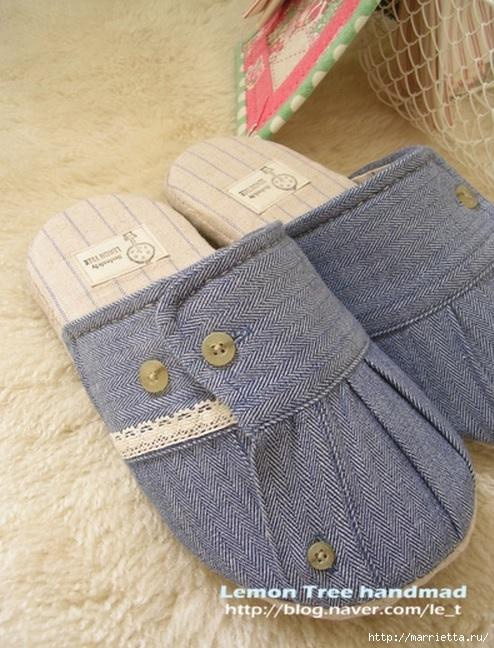 Шьем тапочки и прихватки из джинсовой рубашки (19) (494x648, 242Kb)