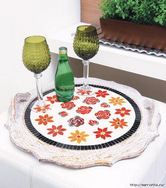 Мозаика из кафельной плитки. Идеи и мастер-классы (9) (581x656, 238Kb)