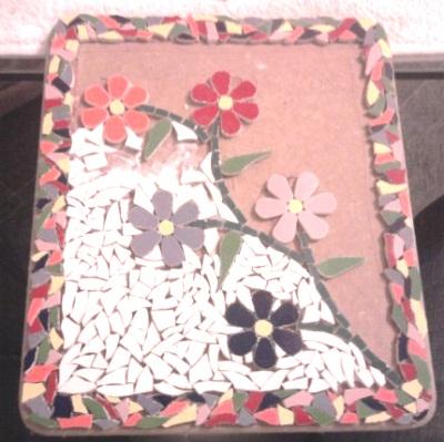 Мозаика из кафельной плитки. Идеи и мастер-классы (36) (400x399, 176Kb)
