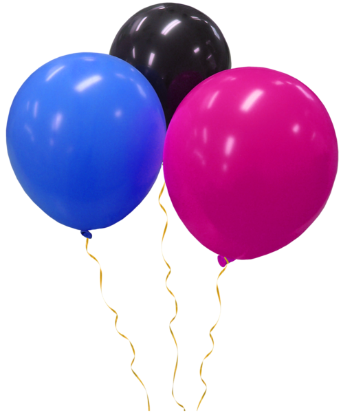Transparent_Three_Balloons_Clipart (496x600, 211Kb)