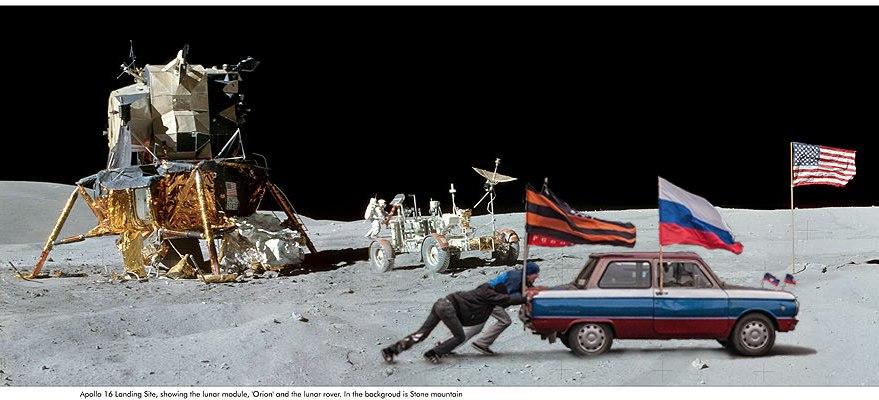 Земля уходит из под ног: Россия представила план полномасштабного освоения Луны - Цензор.НЕТ 9033
